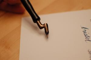 lefthanded pen